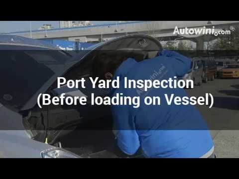 Port Yard Inspection (Before loading on Vessel)