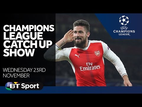 Champions League Catch Up Show   Arsenal  Man City  Celtic   Goals and Highlights New Flash Game