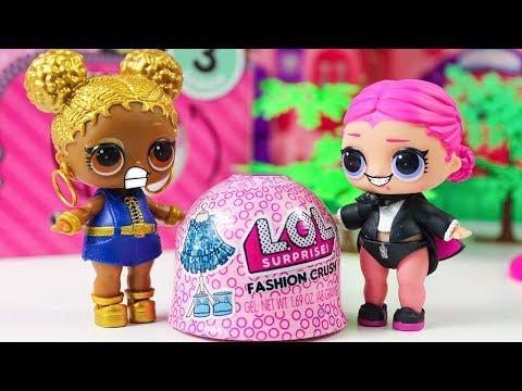 ЛОЛ Одевалки! Красивая одежда Распаковка Мультики про Куклы ЛОЛ Fashion Crush #LOL UNDER WRAPS