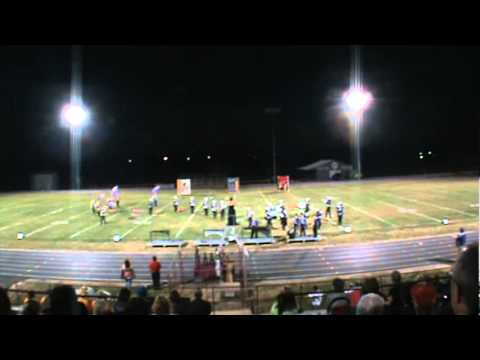 Lyon County High School Marching Band performance on October 8, 2011