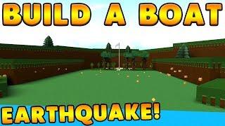 *NEW* EARTHQUAKE GLITCH! | Build A Boat For Treasure ROBLOX