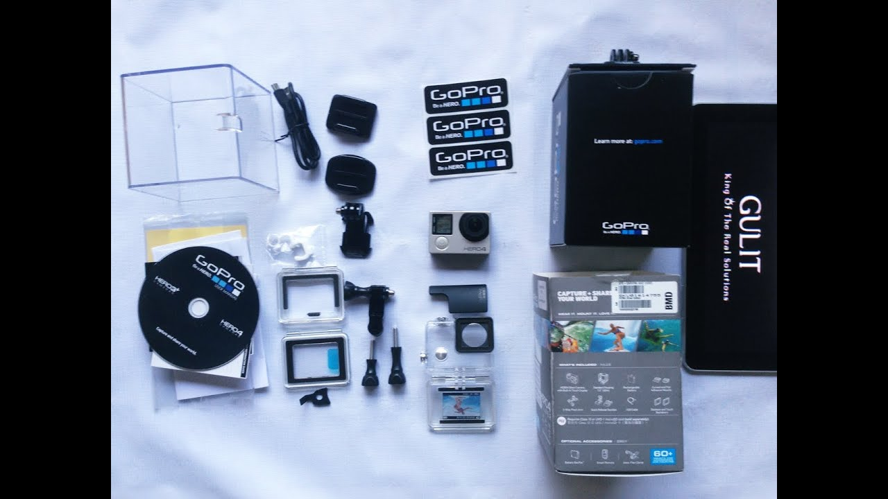 unboxing gopro hero 4 silver edition indonesia youtube. Black Bedroom Furniture Sets. Home Design Ideas