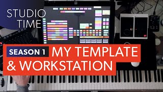 Episode 1: Template Setup and Workstation Layout - Studio Time with Junkie XL
