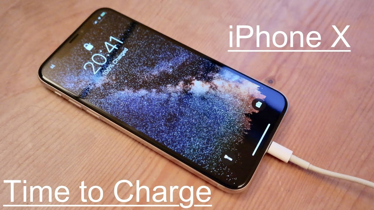 outlet store sale f7a60 48eec Time to Charge: Apple iPhone X