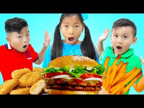 Lunch Song | Toys And Colors Nursery Rhymes & Kids Songs