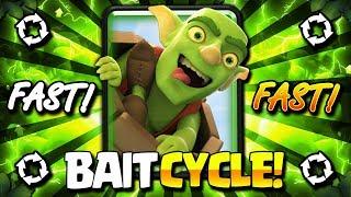 3.0 HYPER AGGRESSIVE BAIT DECK DESTROYS NEW META!! FAST CYCLE!!
