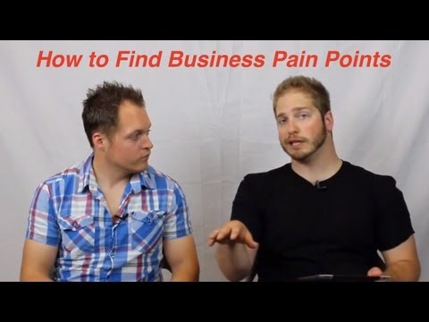 How to Find Business Pain Points (Its like asking questions... but better!)