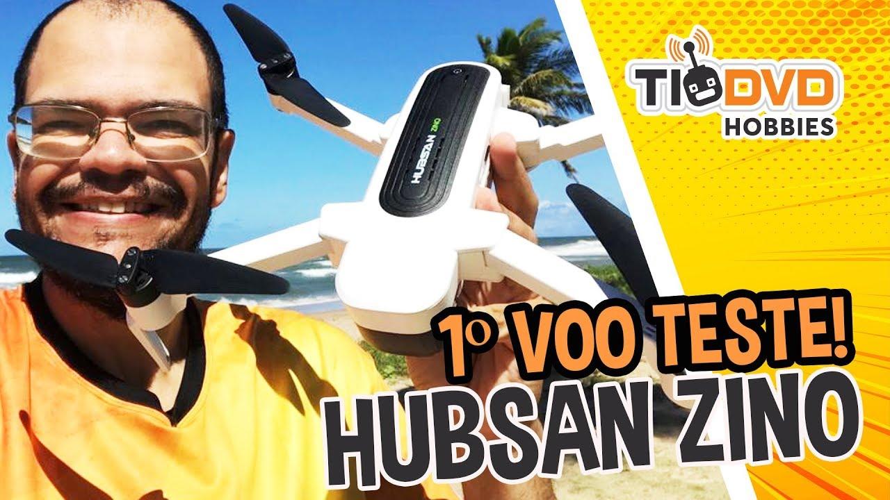 Download ESTE DRONE É MUITO BOM! HUBSAN ZINO H117S COM GPS GIMBAL CAMERA 4K BRUSHLESS PRIMEIRO VOO TESTE