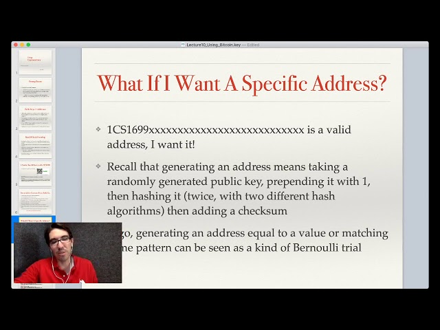 Lecture 12: Using Cryptocurrency