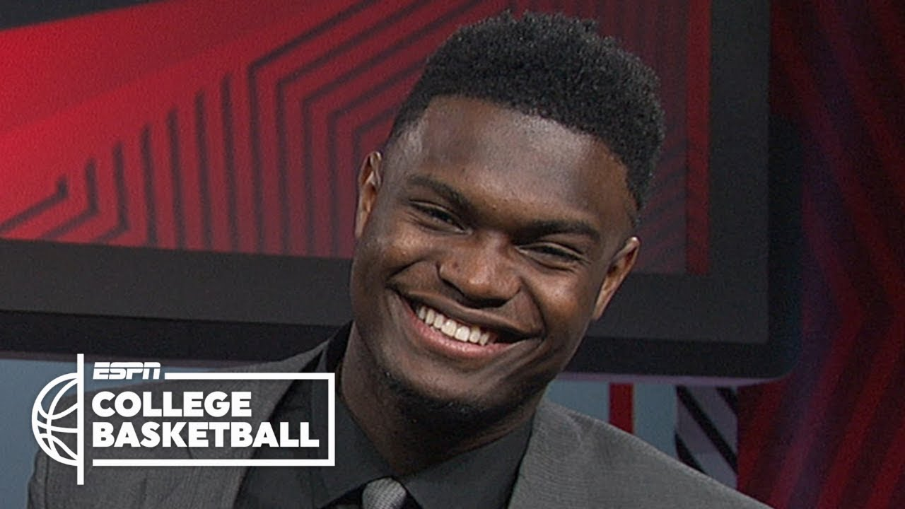 Zion Williamson: Wooden Award is 'humbling,' unsure on declaring for NBA draft | College B