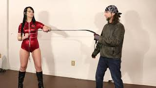 Episode 14: Red Gina breaks the whip - Superheroine