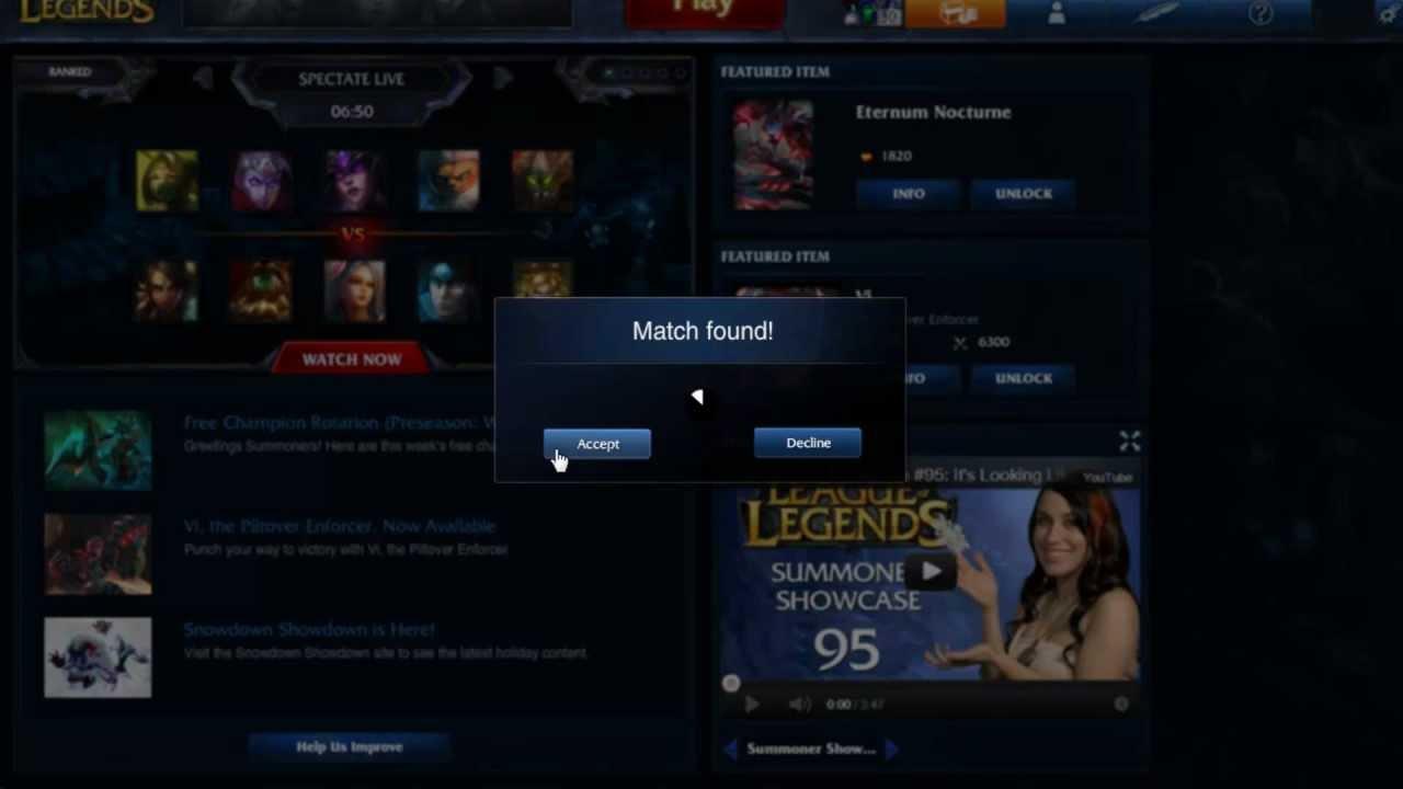 League Of Legends Spiel