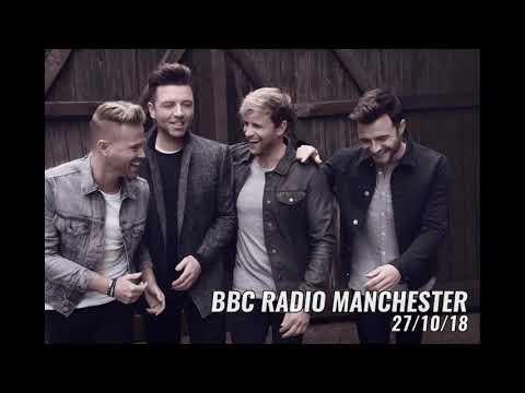 Westlife Interview on BBC Radio Manchester (27/10/18)