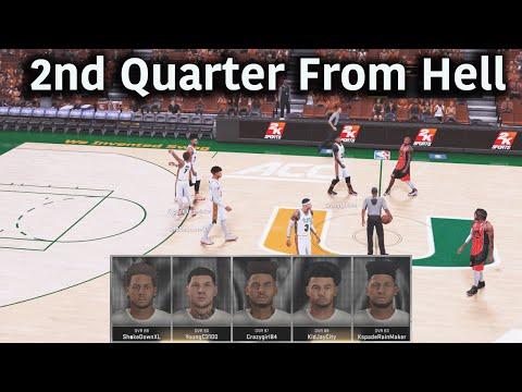 NBA 2K16 Pro AM | The Canes Get Balanced Scoring | Craziest Shot Ever