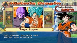 Dragon Ball Z Budokai Tenkaichi 4 - Modo historia Saga Super MODS El Torneo de Champa #4