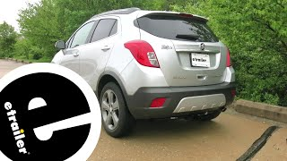 best 2015 buick encore custom fit vehicle wiring options - etrailer.co