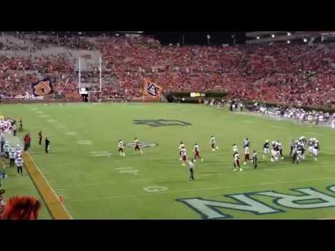 Auburn Touchdown in 4k!