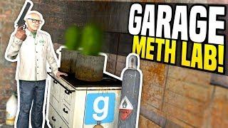 HIDDEN GARAGE LAB - Gmod DarkRP | Chemist Roleplay!