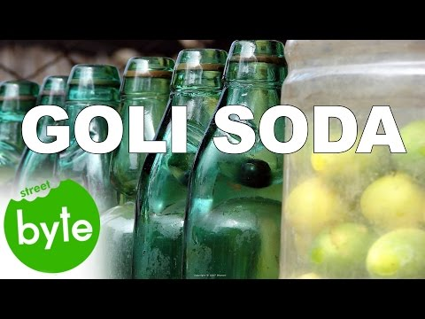 The Best Goli Soda  Famous Indian Street Food   Street Food Around the World