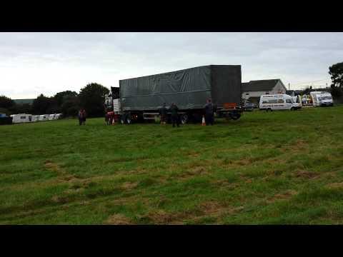 David Rowlands Dodgem Track Arriving Summercourt