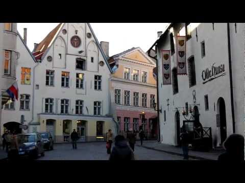 Tallinn Medieval Old Town, one of the best preserved Hanseatic towns (Estonia 2011)