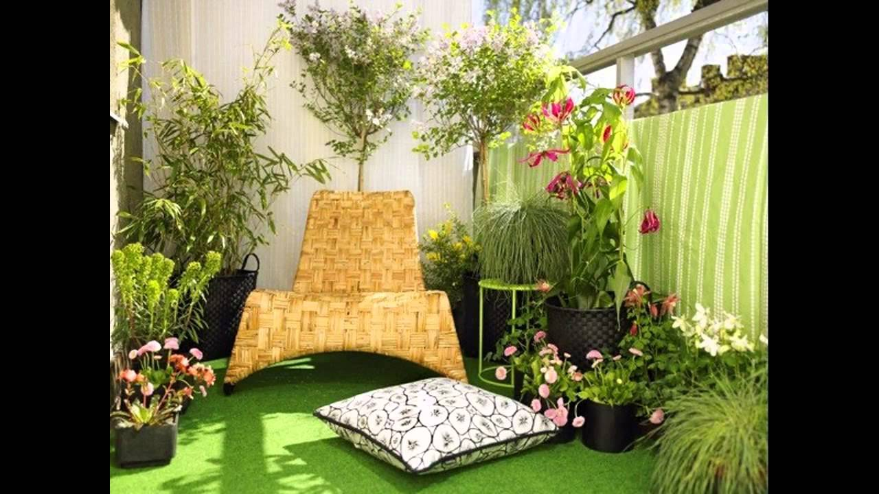 Garden ideas apartment balcony garden ideas youtube for Balcony garden design ideas