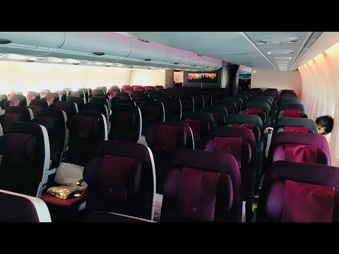 Trip Report: EMPTY Qatar Airways A380 | Heathrow - Doha | Economy Class