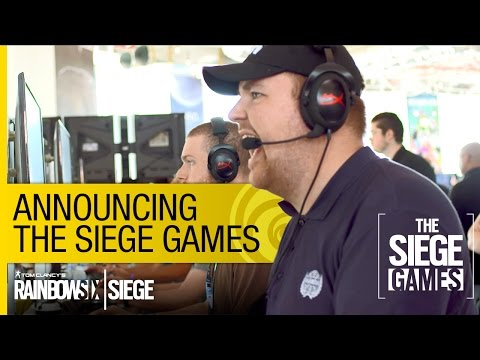 Tom Clancy's Rainbow Six Siege Official – The Siege Games Announcement