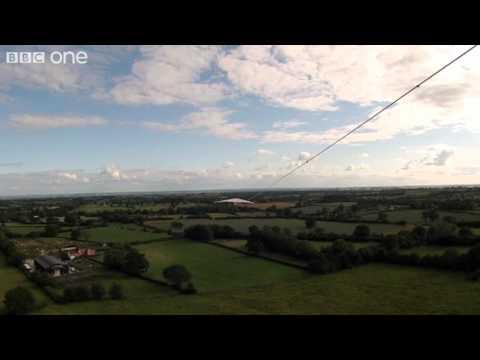 Carol Kirkwood Flies Through Clouds - The Great British Weather - Episode 2 - BBC One