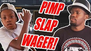 HILARIOUS PIMP SLAP WAGER!! - Madden 15 Pack Opening Wager