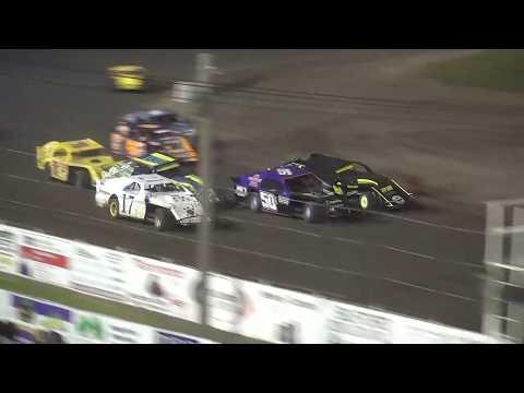 Shiverfest Sport Mod Heat 2 Lee County Speedway 10/27/18