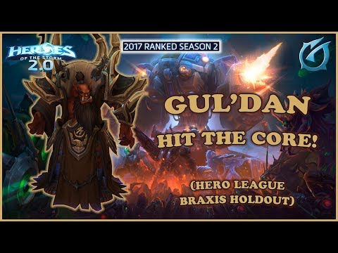 Grubby   Heroes of the Storm 2.0 - Gul'dan - Hit The Core - HL 2017 S2 - Braxis Holdout
