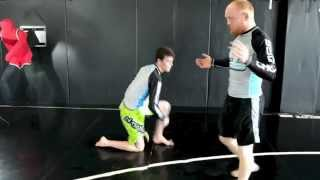 Arm Drag to Fireman's Carry - technique by Combat Fitness | SBG Idaho