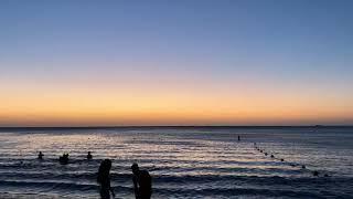 Beautiful Sunsets of Rodadero Santa Marta in Colombian Caribbean