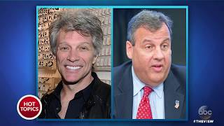 Bon Jovi Avoiding Conversation With Chris Christie? | The View