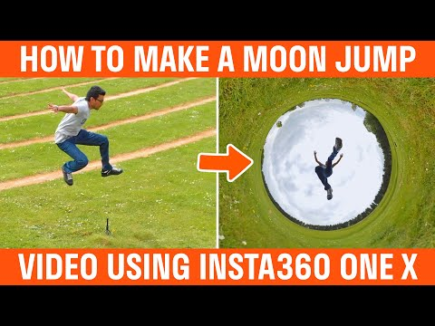 How To Make A Moon Jump Video With The Insta360 One X