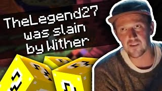 THE LEGEND 27?! NEW YEARS LUCKY BLOCK CHALLENGE!! W/ SSundee