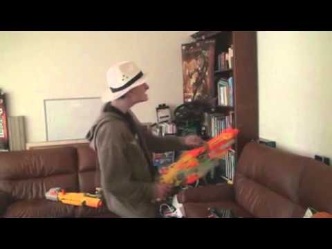 Watch This Guy Rape His Nerf Gun For 1...