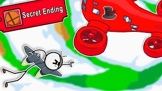 I UNLOCKED The SECRET Time Travel ENDING in Henry Stickmin The Complete Collection