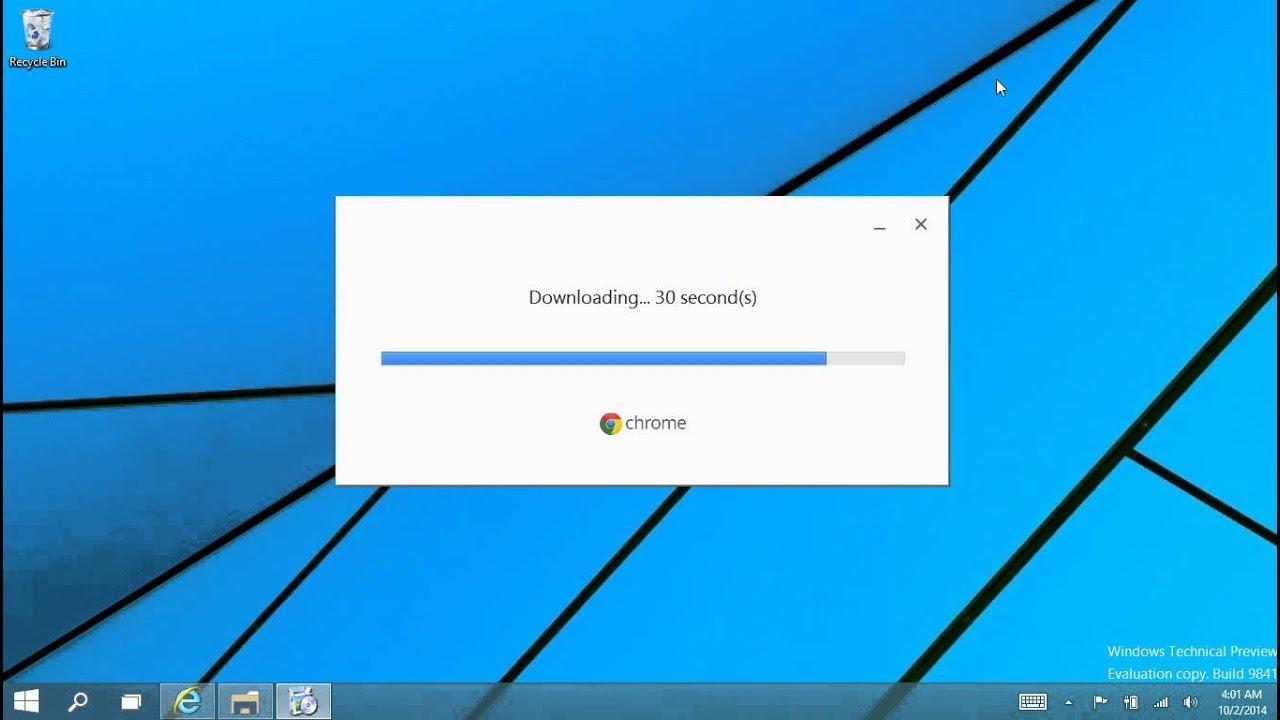 Installing Chrome 64 bit on Windows 10 - YouTube