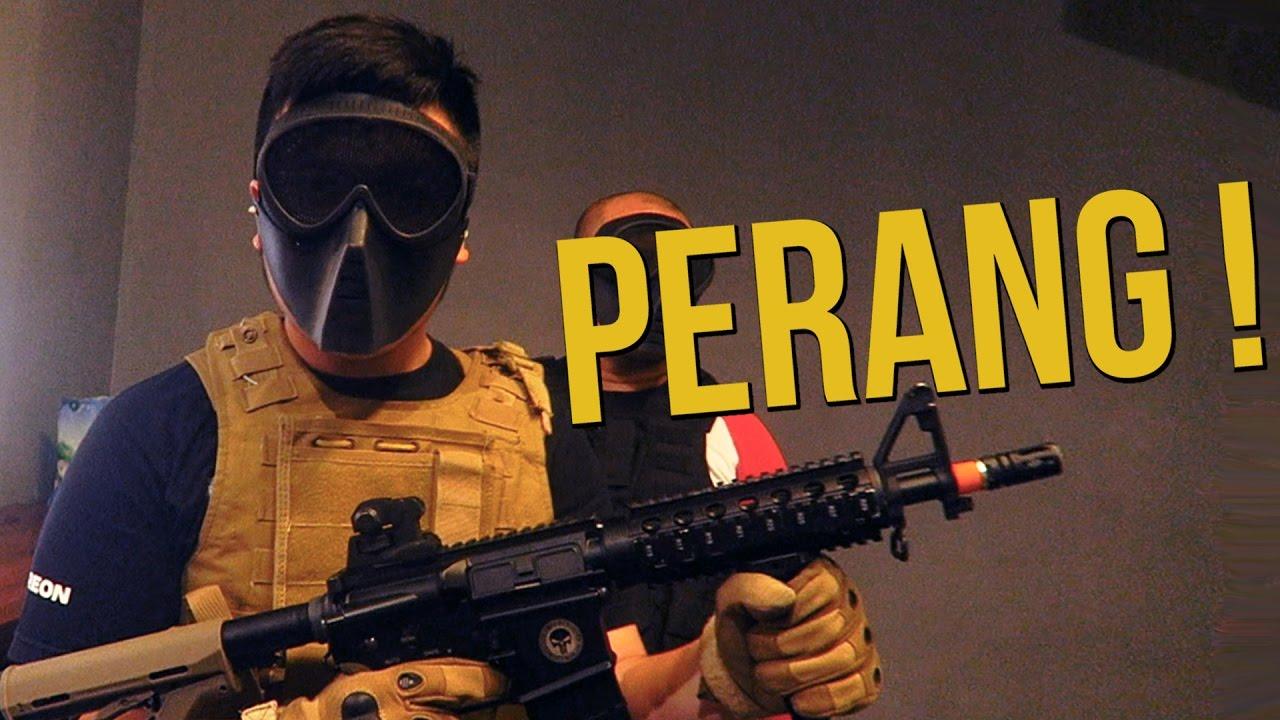 Wallpaper Pubg Real Life: PUBG REAL LIFE (Perang Airsoftgun