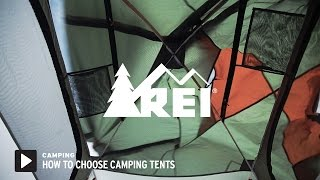 How to Choose Camping Tents