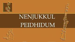 Clarinet Notes Tutorial - Nenjukkul Peidhidum - Vaaranam Aayiram theme (Sheet Music)