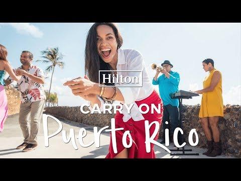 Hilton Hotels Invites Rosario Dawson To Rediscover Puerto Rico