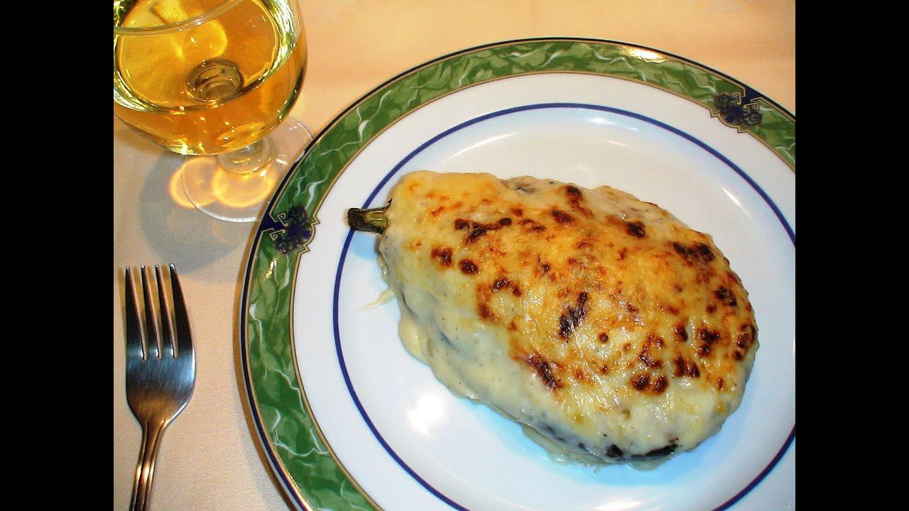 Receta berenjenas rellenas de carne y verduras recetas for Cocina berenjenas rellenas