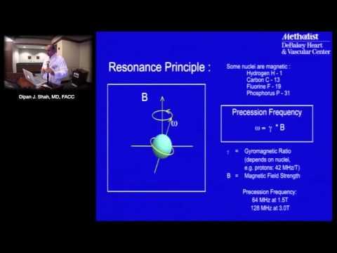 Cardiac Magnetic Resonance Imaging (MRI) Basic Principles (Dipan Shah, MD) Sep. 29, 2015