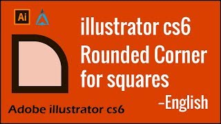 Round corner edges in adobe illustrator cs6   illustrator tips   English   ahamedama