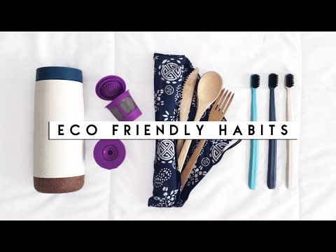 How To Be More Eco-Friendly [Easy Habits + Tips] | Reese Regan