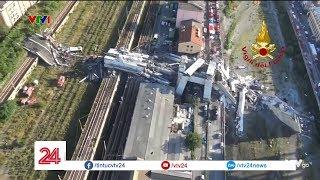 Sập cầu cao tốc tại Italia| VTV24