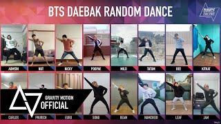 "[DANCE CHALLENGE] ""BTS Daebak Random Dance"" by Gravity Motion"